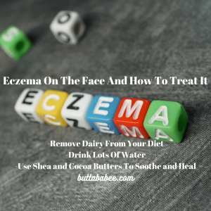 Eczema on the face and how to treat it