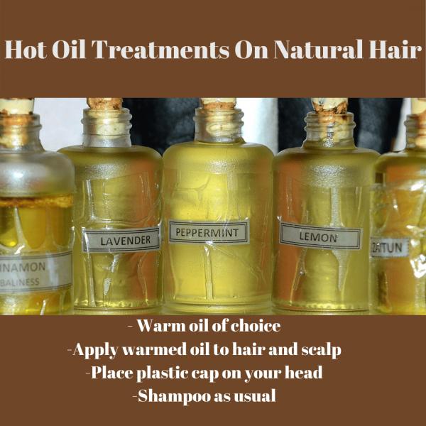Hot Oil Treatments on Natural Hair