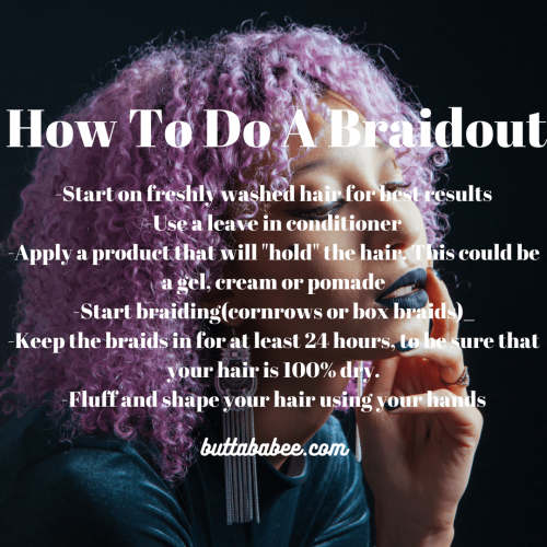 How to do braid outs