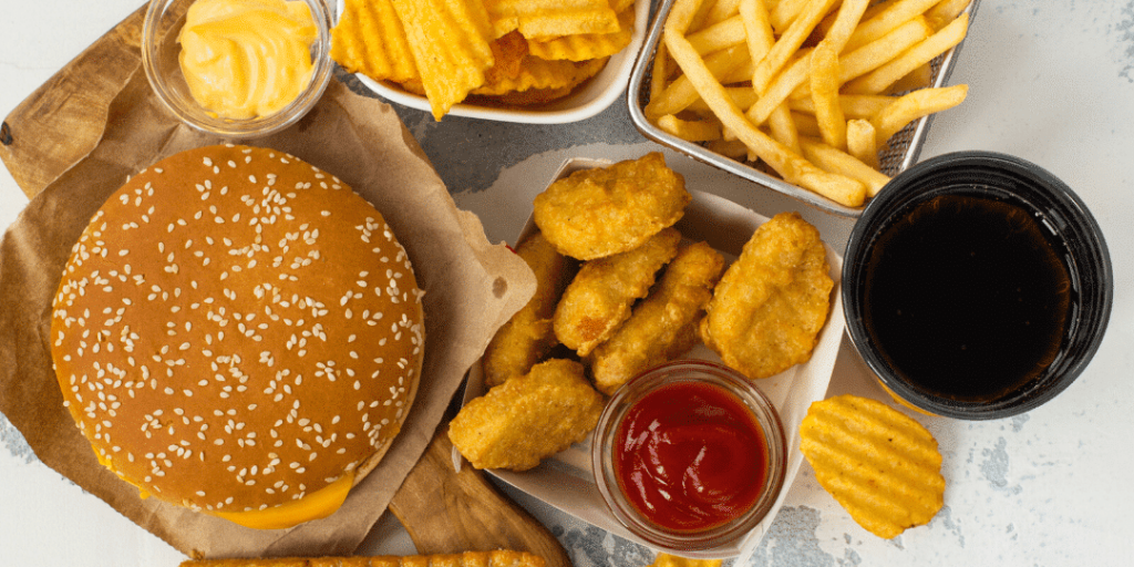Fast Food Is Destroying Your Skin